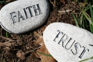Of faith and trust in change