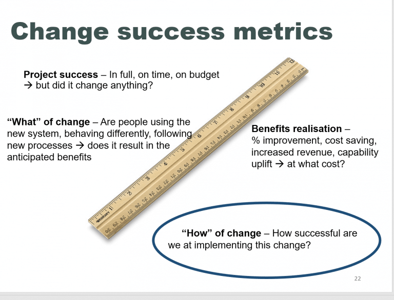 One simple tip to improve your change project's success