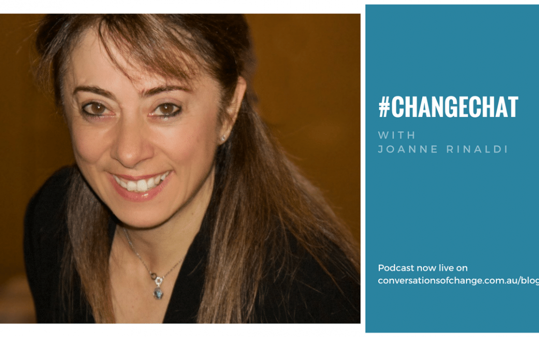 #ChangeChat with Joanne Rinaldi