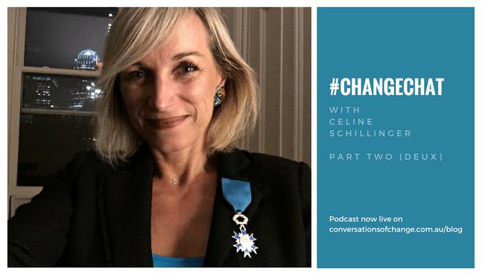 #ChangeChat with Celine Schillinger Part 2