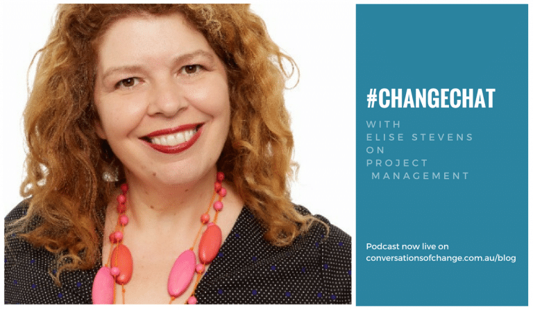#ChangeChat with Elise Stevens on Project Managers
