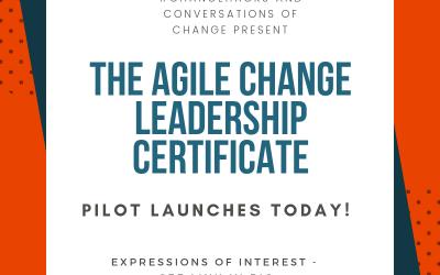 Agile Change Leadership Certificate