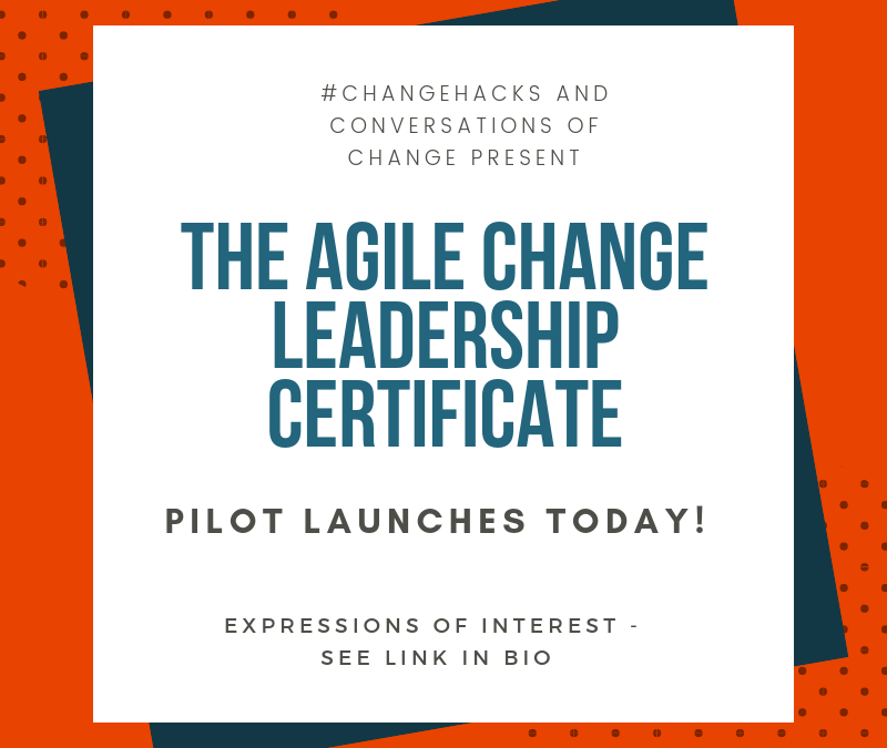 Agile Change Leadership Certificate